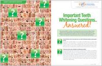 Teeth Whitening Answers - Dear Doctor Magazine